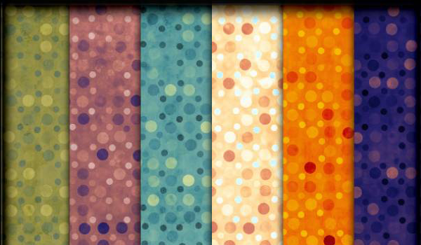 Exotic Polkadots Patterns