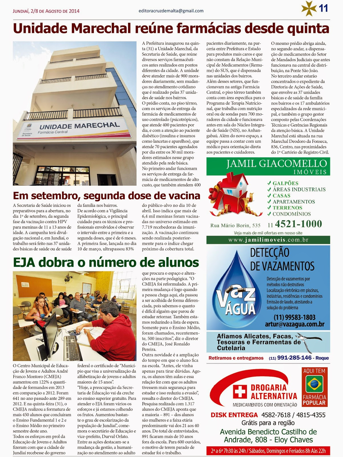 Jornal do Eloy Chaves: 2014