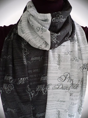 Pride & Prejudice Mobius Infinity Scarf Project by eSheep Designs