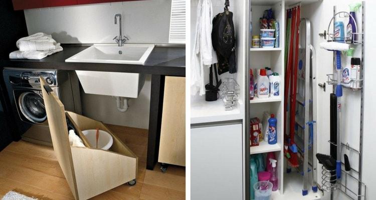 armario de lavanderia