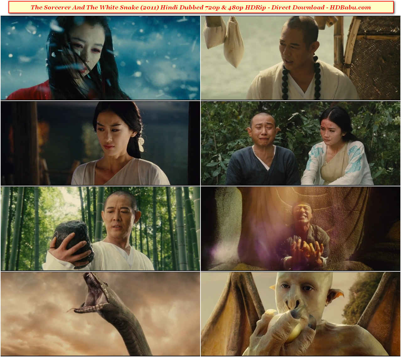 The Sorcerer And The White Snake Hindi Dubbed Full Movie Download