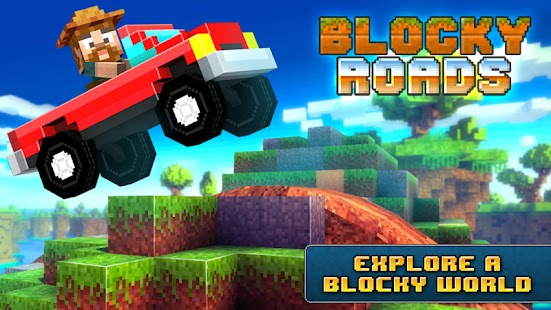 Blocky roads Apk+Data Free on Android Game Download