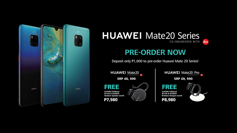 Huawei Announces Mate 20 Series Pre Order And Pricing Details In The