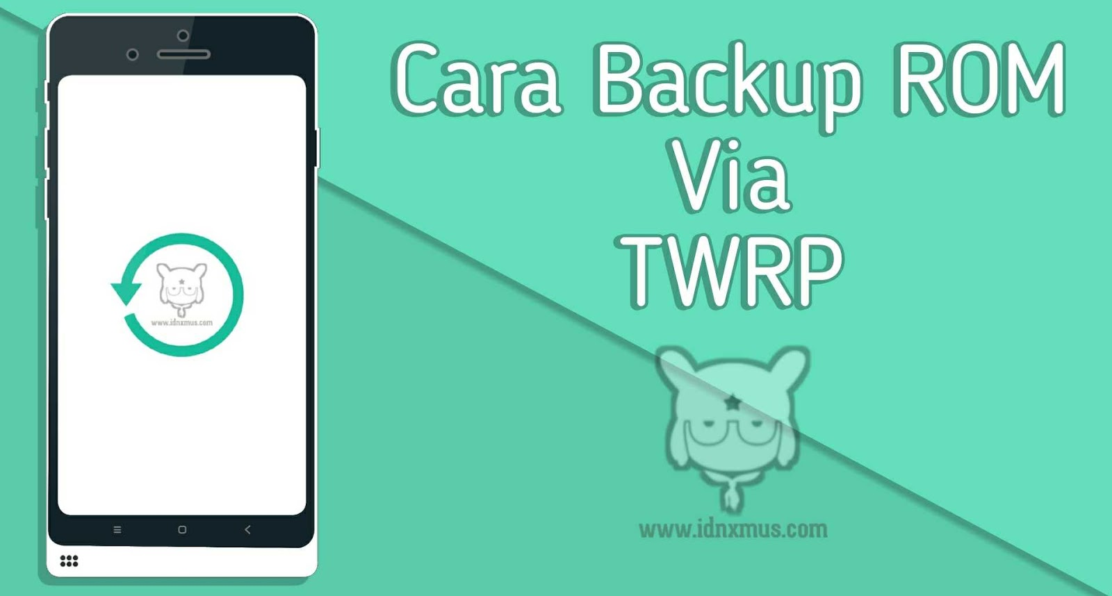 Cara Backup ROM Xiaomi Via TWRP