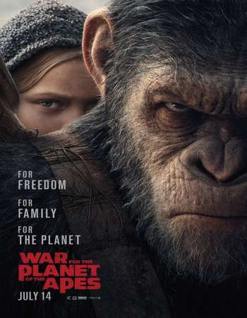 War for the Planet of the Apes 2017 Hindi Dubbed 350MB HDCAM 480p