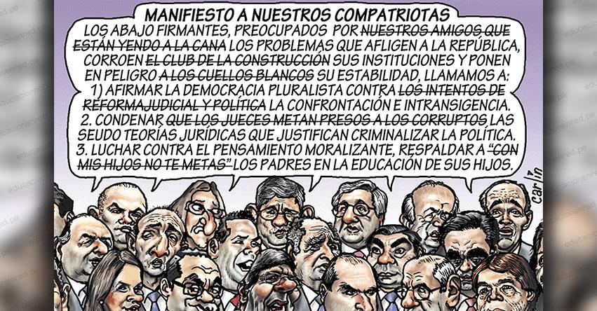 Carlincaturas Miércoles 29 Mayo 2019 - La República