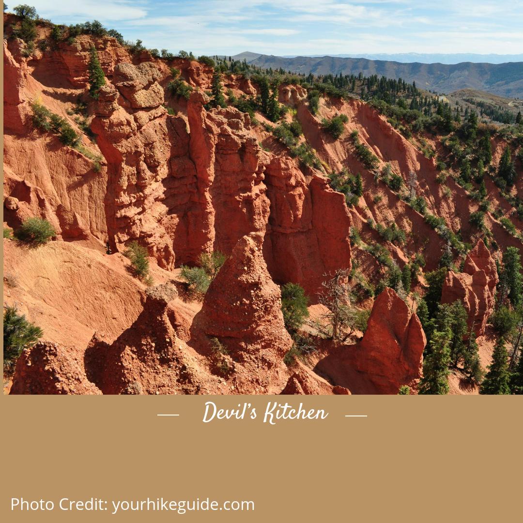 Devils Kitchen Utah: Hines Mansion Bed & Breakfast Blog: Top 10 Hiking Trails