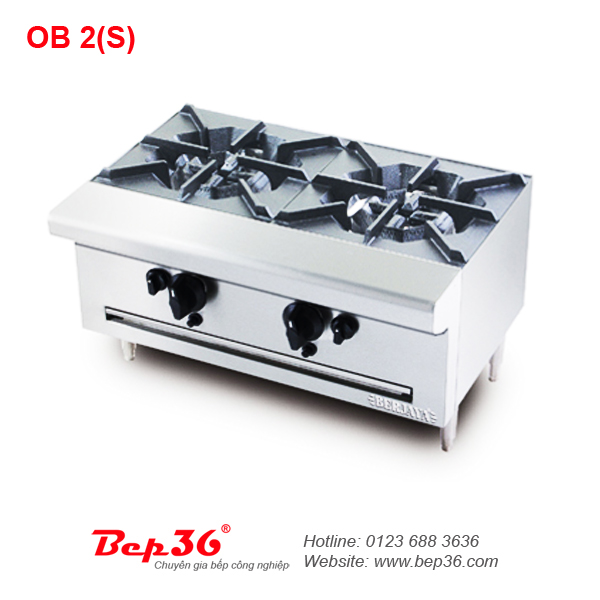 Bếp âu công nghiệp Berjaya OB 2S tại Thanh Hóa