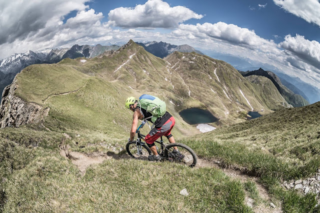 Downhill Trail Mountainbike Vals MTB Seefeldspitze