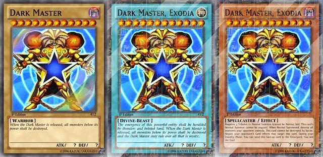 Dark Master adalah kartu ilegal yang bukan dirilis Konami