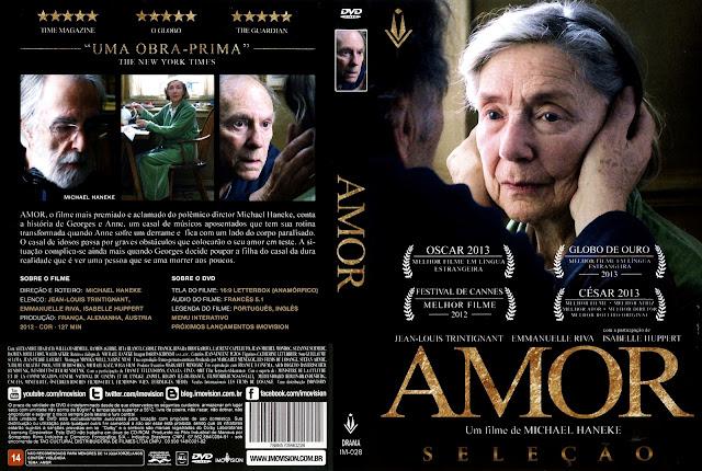 Capa DVD Amor