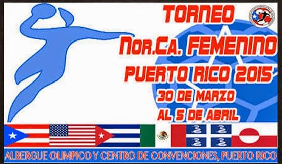 nor.ca. handball femenino 2015 | Mundo Handball