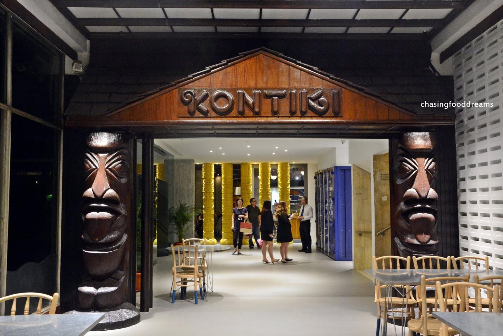 CHASING FOOD DREAMS: Kontiki Restaurant, The Federal Kuala ...