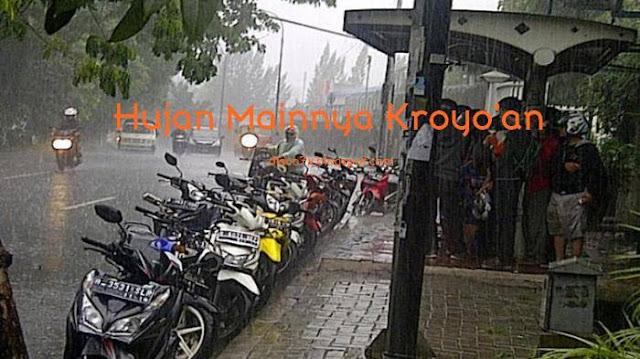 Tipe Tipe Pengendara Ketika Hujan