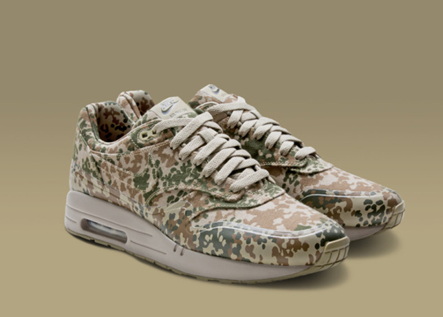dbd8ae7037dfc Germany's print was first issued in 1999, and now adorns the Air Max 1 and Air  Max 180. Nike Air Maxim 1 Germany SP. Bamboo ...