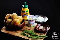 Potato Salad in Dill Yogurt Dressing Healthy and Easy Recipe