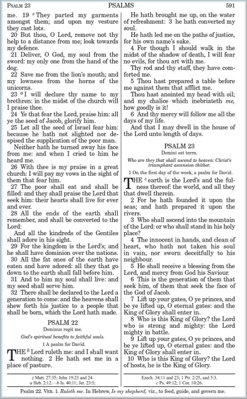 STEP Bible News: Bibles with confusing verse numbers