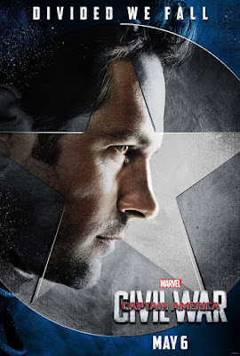 "Captain America: Civil War ""Team Cap"" Character Movie Poster Set - Paul Rudd as Ant-Man"