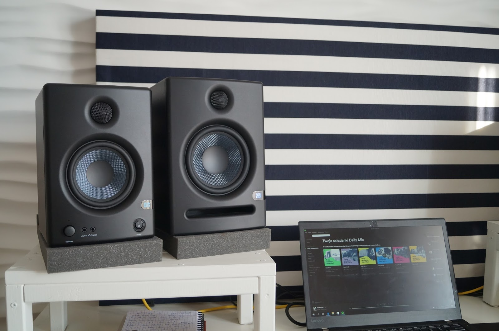 presonus eris e5 active monitor review eris e5 fights eris e4 5 and jbl lsr305 fails to engage. Black Bedroom Furniture Sets. Home Design Ideas