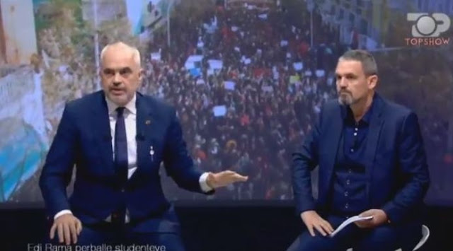 Edi Rama: There is a structured Marxist group in student's protest