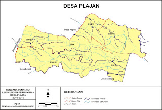Peta Desa Plajan