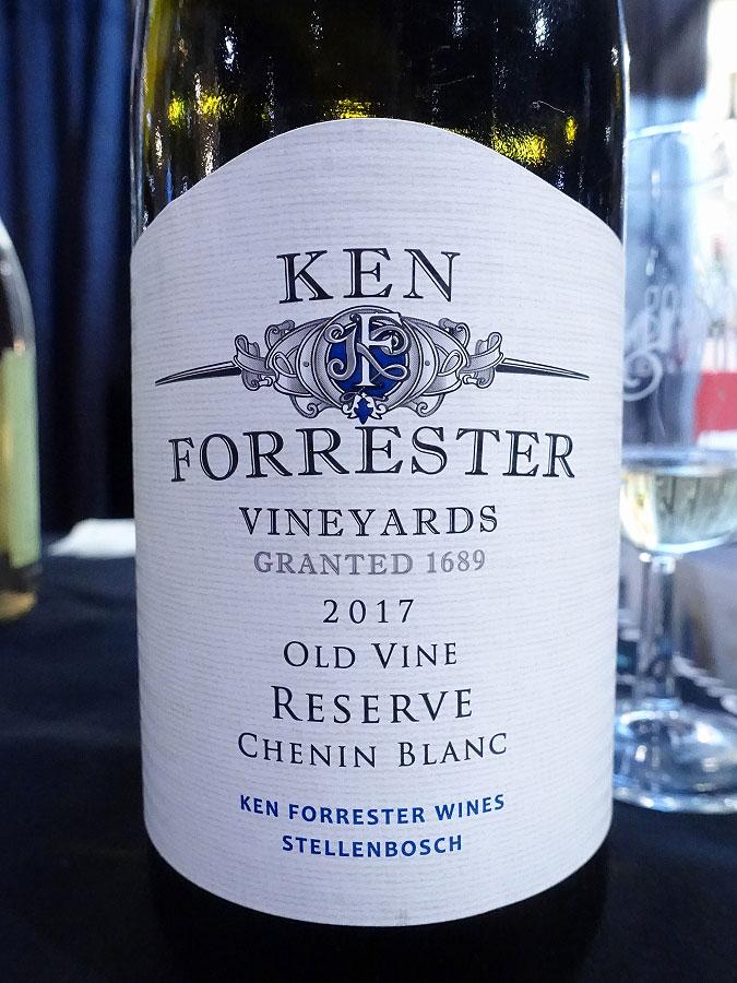 Ken Forrester Old Vine Reserve Chenin Blanc 2017 (90 pts)