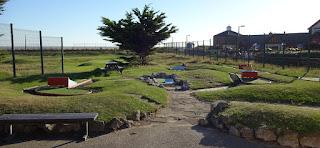 MiniLinks Crazy Golf course in Lytham Saint Annes
