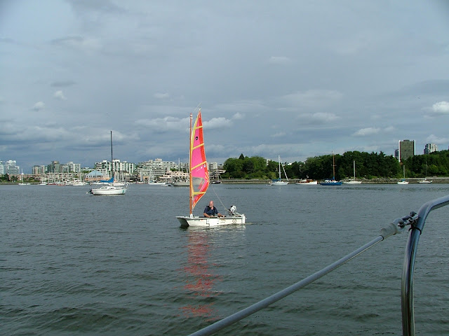 False creek dinghy sailing