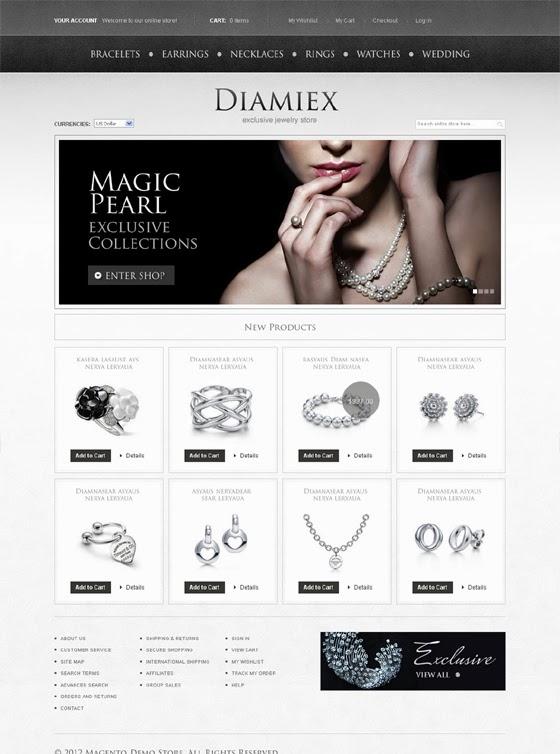 Thiết kế website bán hàng nhẫn cưới