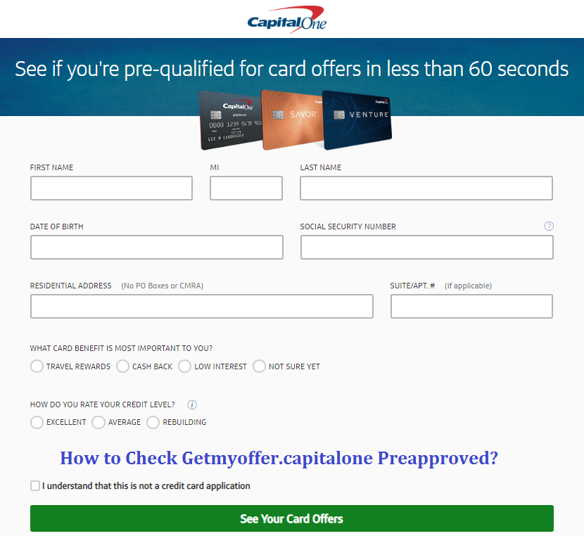 getmyoffer capitalone com reservation number capital one credit card preapproved sign up. Black Bedroom Furniture Sets. Home Design Ideas
