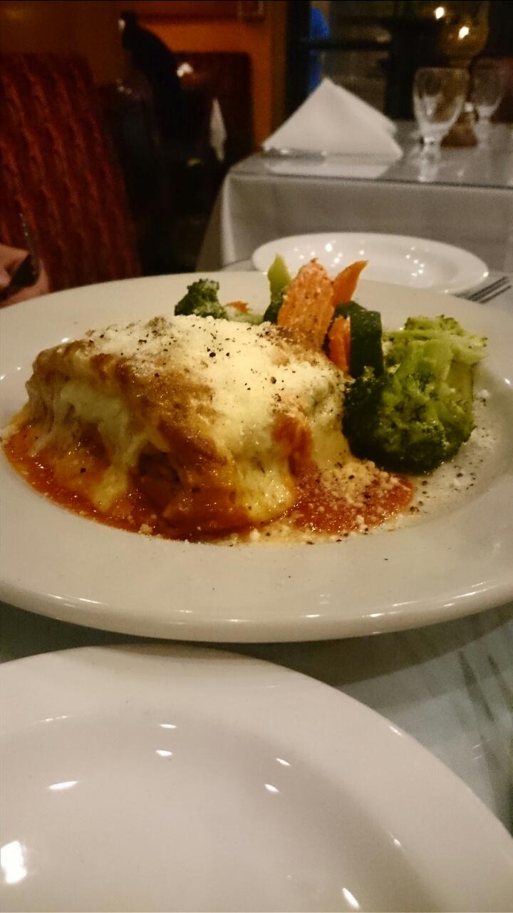 Ceasario's Italian Restaurant Lasagne
