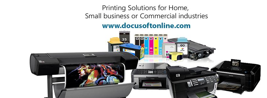 Docusoftonline Printing Solutions for Home, Small business or Commercial industries