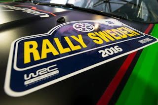 Simone Tempestini/Matteo Chiarcossi Ford Fiesta R5 Raliul Suediei 2016
