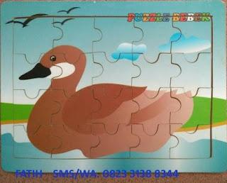 Game Puzzle Binatang Bebek