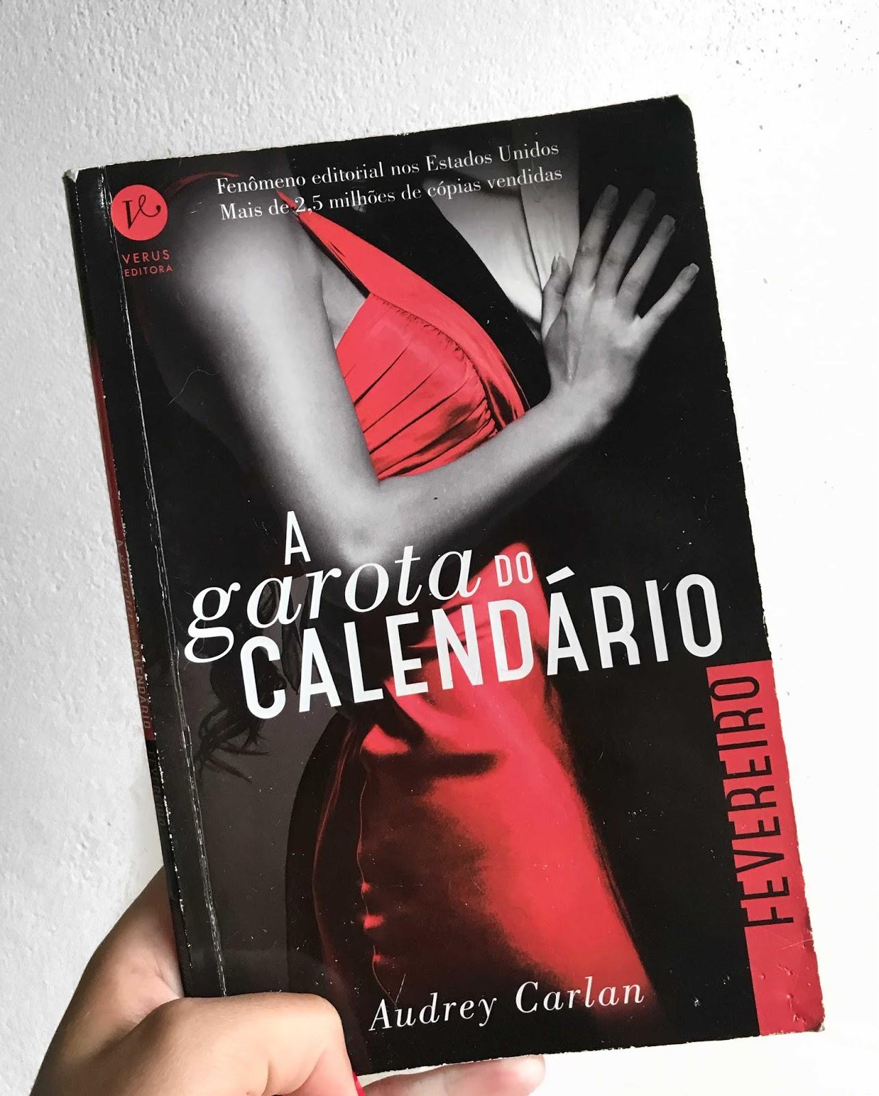 A garota do calendário Fevereiro de Audrey Carlan