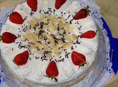 Τρόπος για να κόβετε παντεσπάνι ή τούρτες χωρίς μαχαίρι