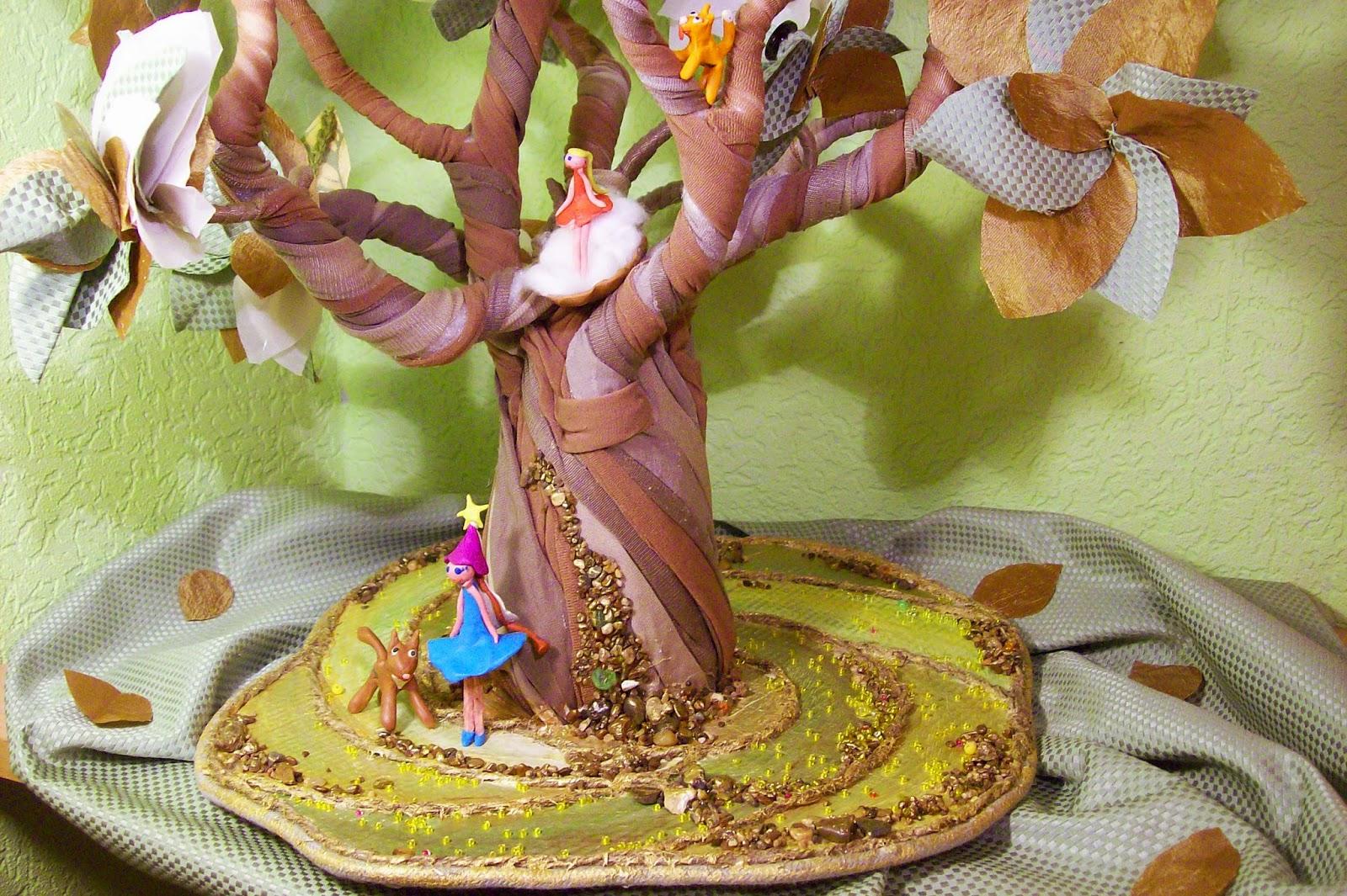 подставка для Волшебного дерева.
