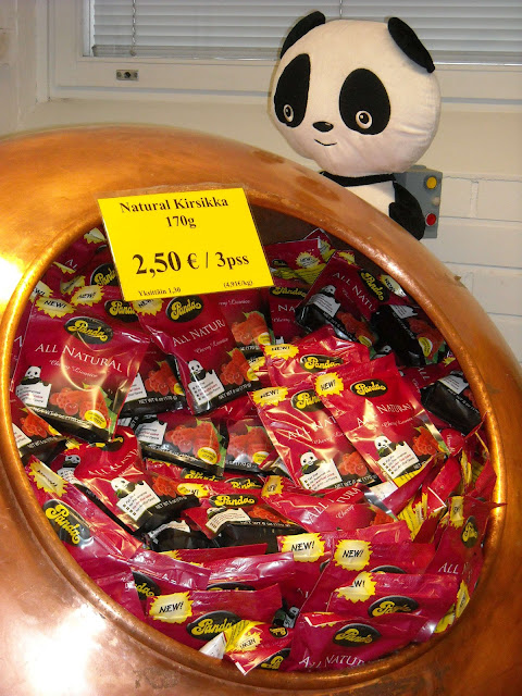 LukanLusikassa ruokablogi: Pandan tehtaanmyymälä