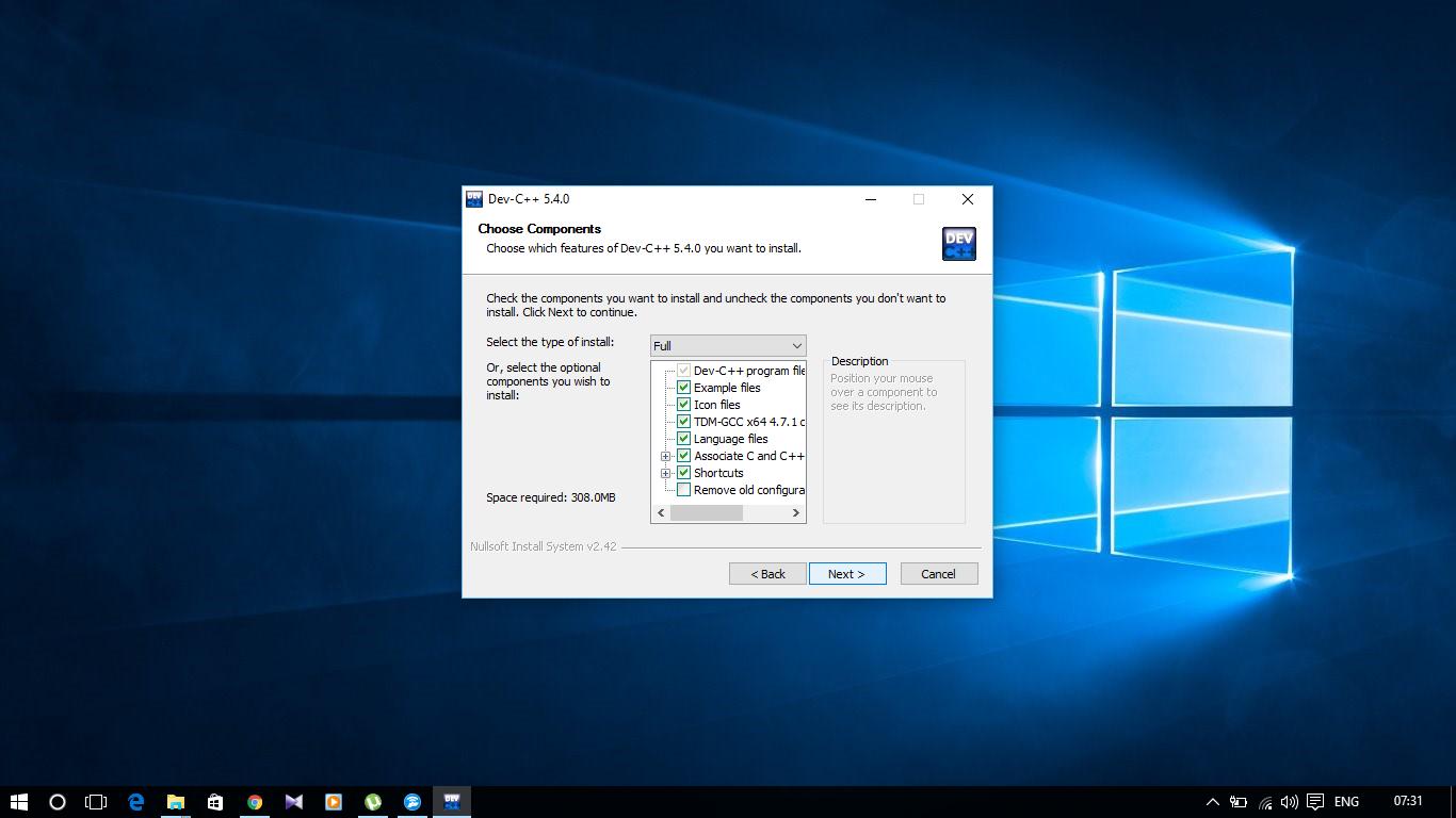 dev c for windows 7
