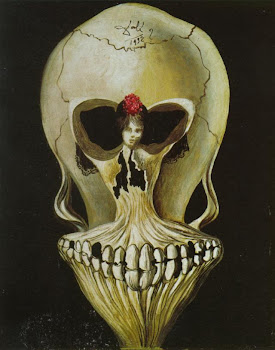 Ballerina in a Death's Head
