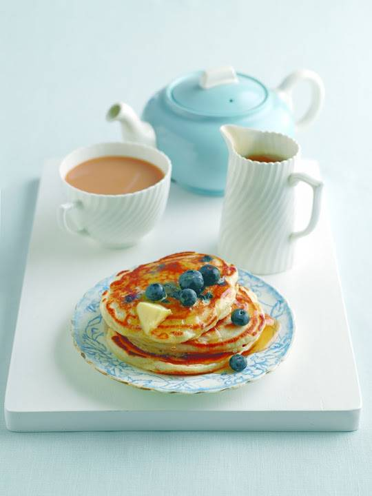 Lisa Faulkner's Chilean Blueberry Pancakes for Shrove Tuesday