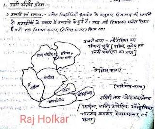 Geography Handwritten Notes