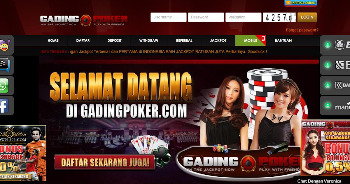 Cara Daftar Poker Online di Gadingpoker - Daftar Situs ...