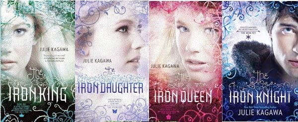 portadas libros saga The Iron King de Julie Kagawa