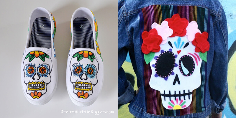 DIY to try # sugar skull craft