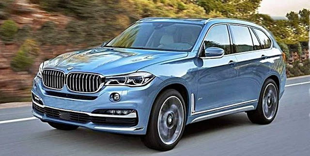 2019 BMW X7 Spy Shots