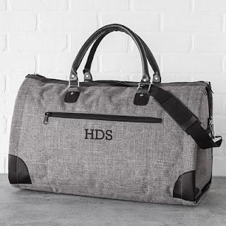 Outside Pocket Monogram Duffel Bag