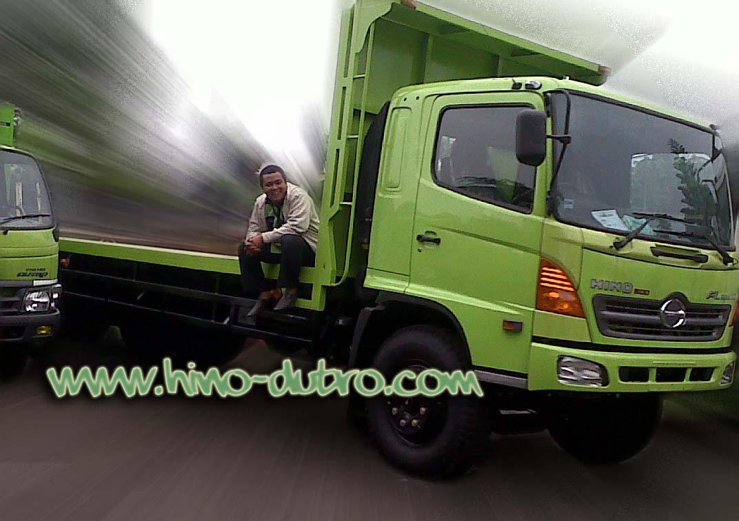 Dump Truck Tronton Karoseri Los Bak Flat Bed Truk Hino
