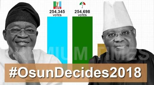 Why PDP's Adeleke Is Leading Our Candidate In Osun Election - APC Chieftain