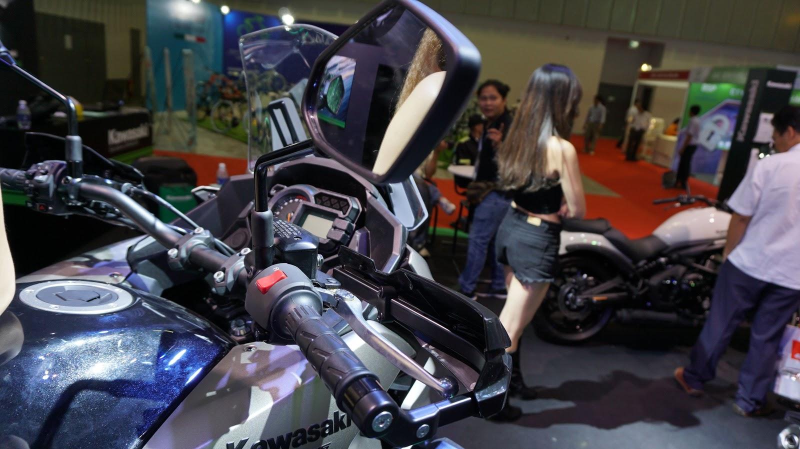 Cận cảnh siêu xe Kawasaki Versys 1000 tại VMS 2016